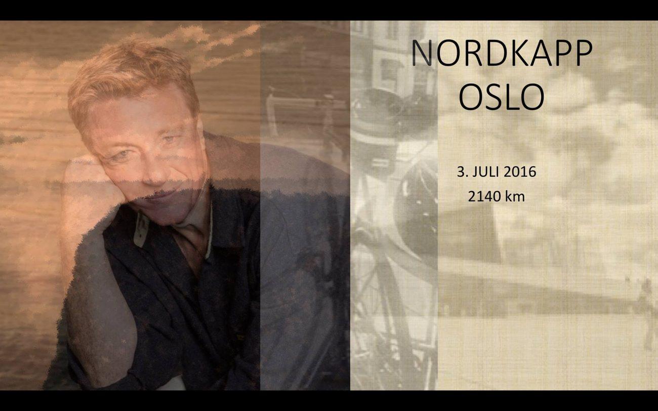 Espen Tyrihjell - Nordkapp - Oslo - 2140 km