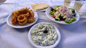 simple Greek